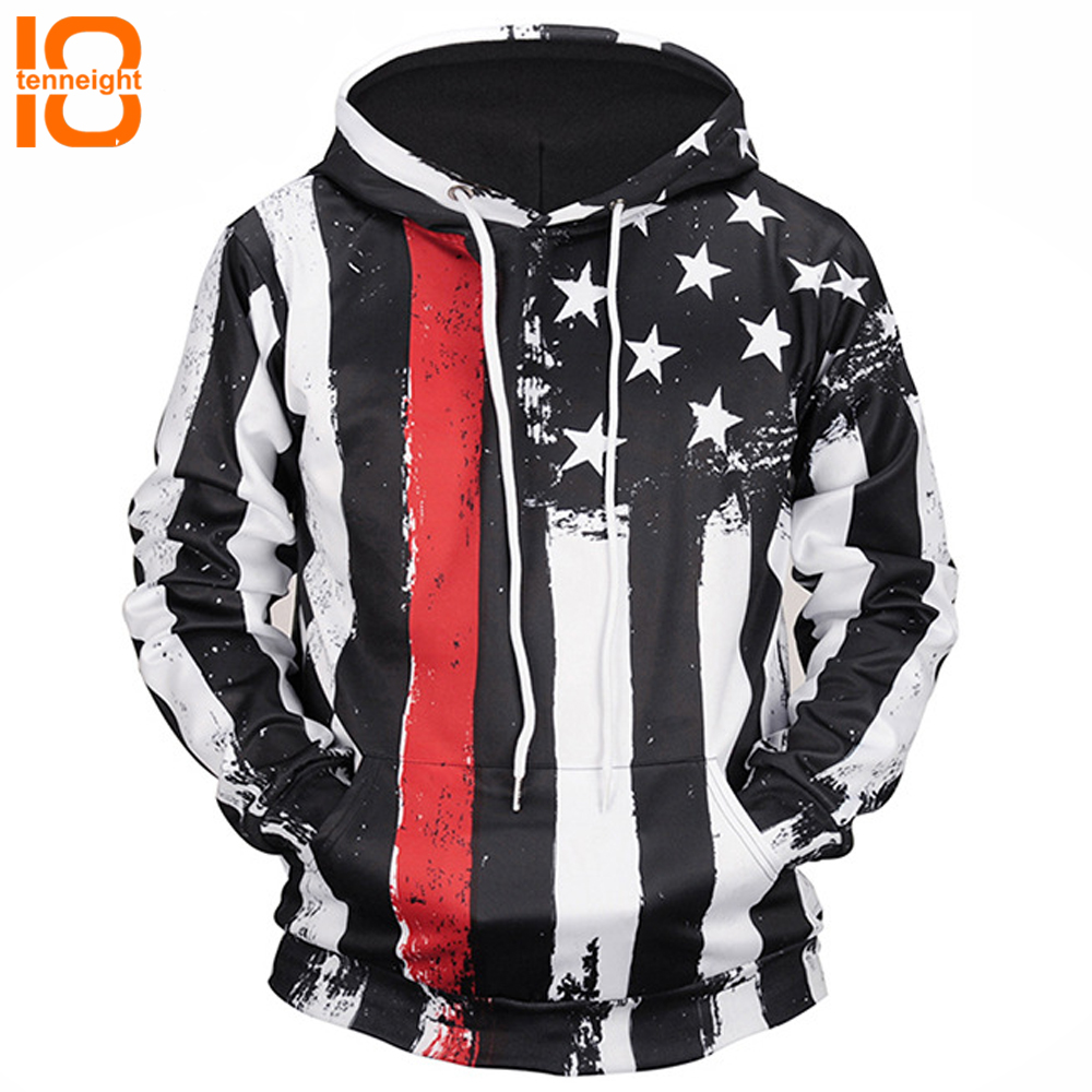 TENNEIGHT New 3D hooded sweatshirts men's sports coat couple clothing outdoor sports sweatshirts Hooded Sweatershirts