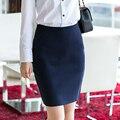 Прямая женская юбка повседневной носки, чуть выше колен размерами S-XXXL