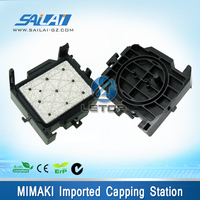New type!!!Make in Japan dx5 printhead capping station for mimaki jv33 jv5 cjv30 print head dx5 capping station dx5 head cap top