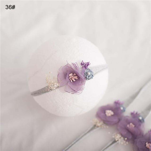 Headband Bunga Busur Elastis  5