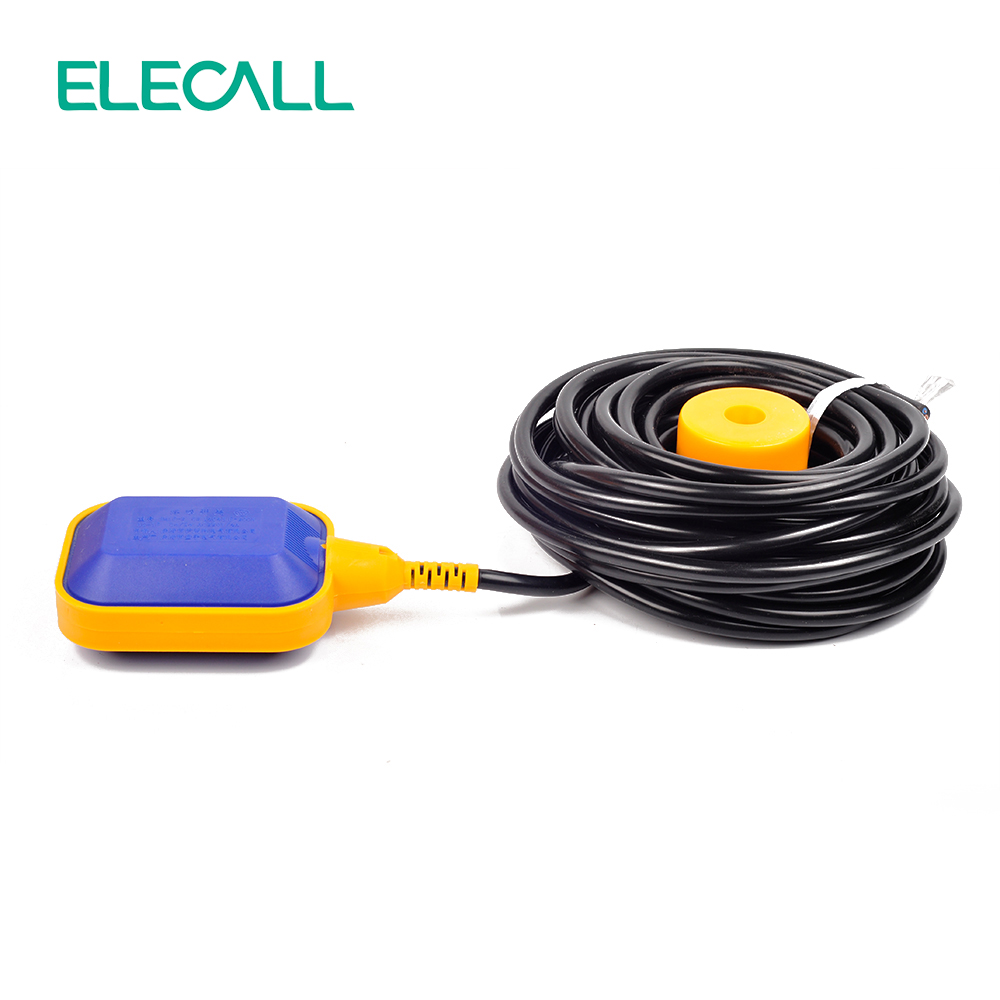 ELECALL 12M Controller Float Switch Liquid Switches Liquid Fluid Water Level Float Switch Controller Contactor Sensor anti corrosion pp plastic duckbill type side mounted float switch level switch water level switch level sensor