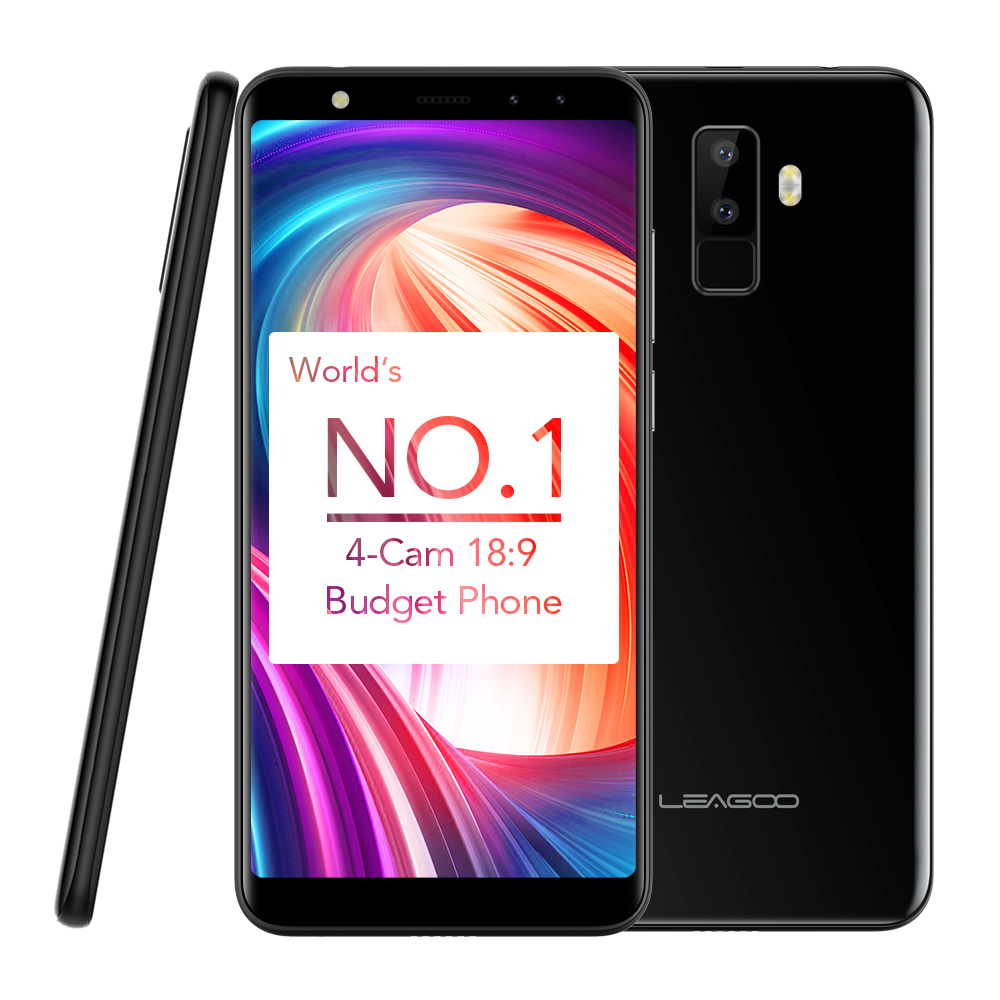US $69 99 |LEAGOO M9 Android 7 0 System FOTA upgrade MT6580A Quad Core  1 3Ghz 2850mAh RAM 2GB+ROM 16GB 5 5 inch 8 0MP 3G Mobile Phones-in  Cellphones