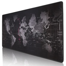 лучшая цена Gaming Mouse Pad Large Mouse Pad Gamer Big Mouse Mat Computer Mousepad Rubber Surface World Map Mause Pad Keyboard Desk Mat Game