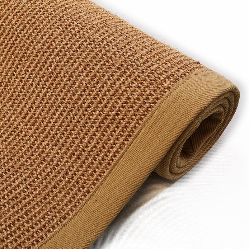 Aliexpress Com Buy 160x230cm Big Carpet Rugs Latex Sisal