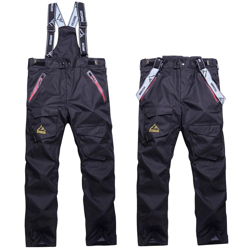 NEW Snowboarding Pants men Skiing pants male ski trousers winter Sportswear Breathable Waterproof windproof WARM Large size