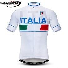 1f2d53be23 Tour de Itália Ciclismo Jersey Curto Camisa Ropa de ciclismo Maillot ITALIA  MTB Bicicleta Parte Superior