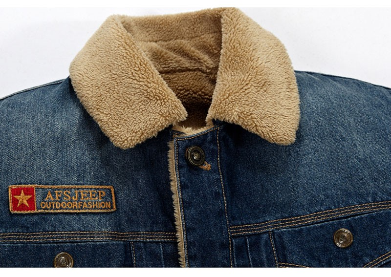 M~4XL New Retro Warm Denim Jackets Mens Jeans Coats Winter Jackets Brand AFS JEEP Thicken Denim Coat Men Outwear Male Asian Size (11)