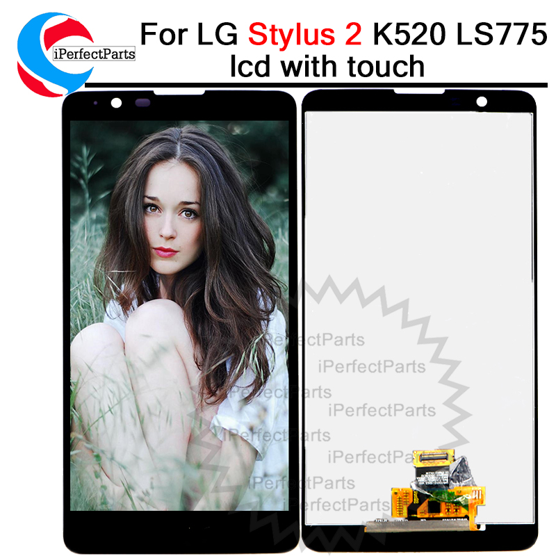 Tested New Warranty 5.7 Display For Lg Stylus 2 Lcd Touch Screen Digitizer Assembly 1280x720 For Lg Stylus 2 Display K520 Ls775 To Reduce Body Weight And Prolong Life Mobile Phone Parts Cellphones & Telecommunications