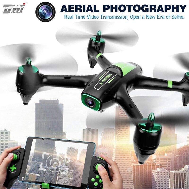 Drone RC Selfie quadrirotor avec caméra WiFi HD 5.0MP 1080 P Drones FPV télécommande hélicoptère Drone caméra Dron X21P