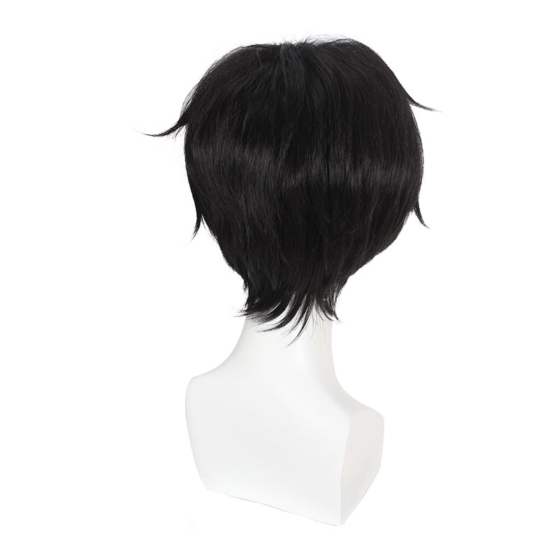 Image 3 - L email wig Banana Fish Cosplay Wig Eiji Okumura and Aslan Jade Callenreese Heat Resistant Synthetic Hair Perucas Cosplay Wig-in Synthetic None-Lace  Wigs from Hair Extensions & Wigs