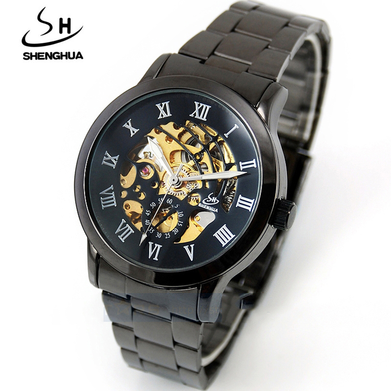 Full Steel Self-wind Automatic Mechanical Watch Men Analog Stainless Skeleton Mens Wrist Watch Cool Steampunk clock maleFull Steel Self-wind Automatic Mechanical Watch Men Analog Stainless Skeleton Mens Wrist Watch Cool Steampunk clock male
