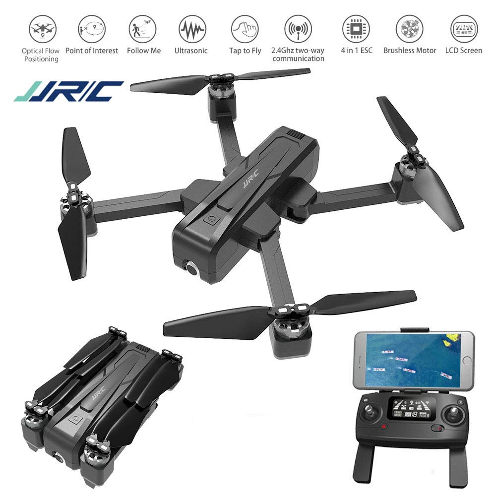 <font><b>JJRC</b></font> <font><b>X11</b></font> Foldable <font><b>Drone</b></font> with 2K 5G WiFi Camera Record Video App Control One-Key RTH Follow Me Brushless Motor Altitude Hold image