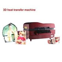 3D сублимационная вакуумная машина, сублимация/тепло Пресс машина, кружка/футболка/Сотовый принтер для чехлов телефонов, чашки/3D теплообмен