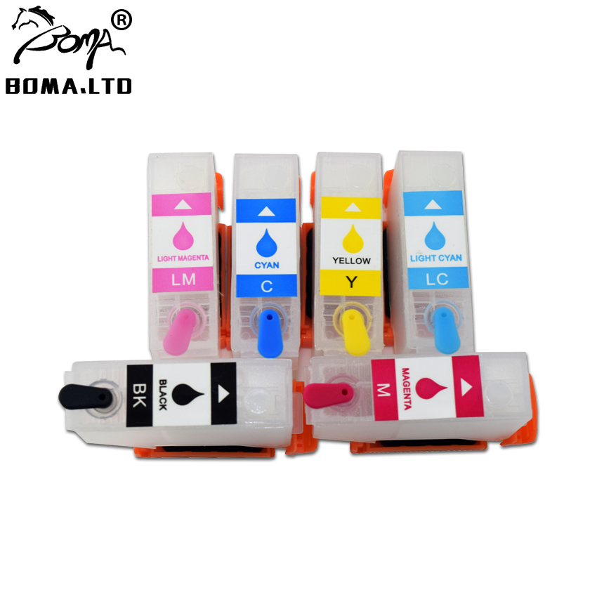 BOMALTD Refill Cartridge For EPSON T312XL T378XL Expression Photo XP 8500 XP 8600 XP 8605 XP 8505 XP8500 XP8600 XP8505 XP8605 in Ink Cartridges from Computer Office