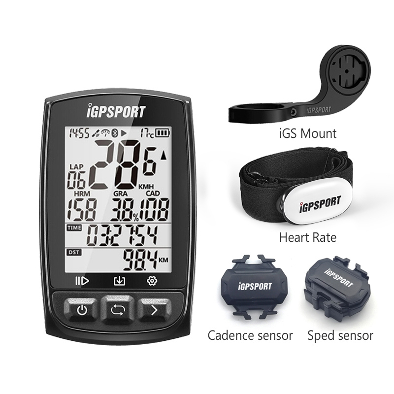 iGPSPORT gps cycle computer iGS50E With Mount IPX6 waterproof riding computer iGS bike Speedometer ANT Cadence