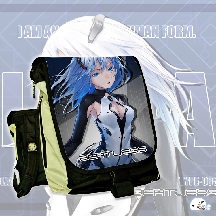 Anime BEATLESS COSPLAY Type-005 Anime Male and female Students Campus Leisure Travel Backpack Computer bag anime tokyo ghoul cosplay anime shoulder bag male and female middle school student travel leisure backpack page 8