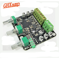 GHXAMP 2.1 CH 15*2 + 30 W Subwoofer amplifikatör kurulu TPA3110D2 Ses Stereo 60 W NE5532 OP AMP High-end Bilgisayar Hoparlörü için 12 V 24 V