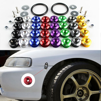 18X 8Color Car Fender Bumper Screw Gaskets For Suzuki Swift Bmw F10 X5 E70 E30 F20 E34 G30 E92 E91 M Volvo XC90 S60 V40 S80 xc60 image