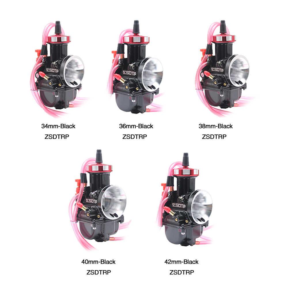 42mm PWK Air Striker Carburetor for 2T//4T motorcycle engine scooter ATV