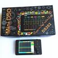 DS202 Mini 2-channel Digital Oscilloscope Oscilloscope Interface USB Full Color Display TFT 8 MB de Memória de Armazenamento de 1 MHz 10MSa/s