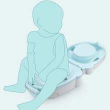 Kids Travel Potty Toilet for Outdoor Camping or Car Travel