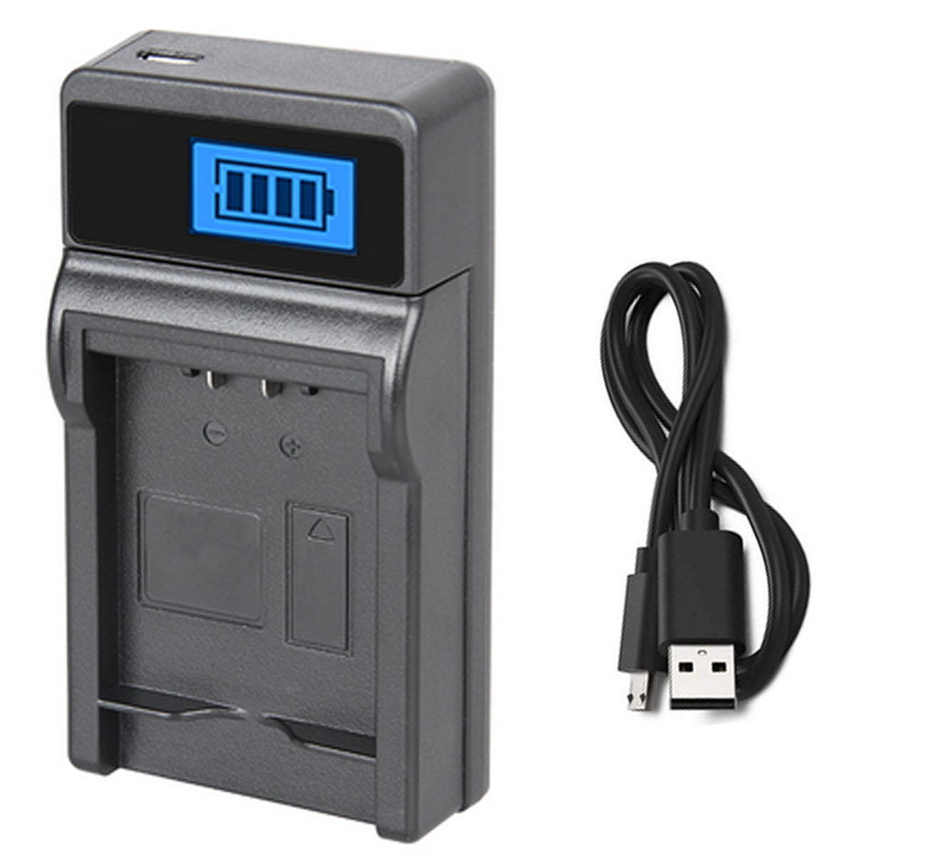 PV-GS83 PV-GS80 PV-GS85 Camcorder LCD Quick Battery Charger for Panasonic PV-GS70