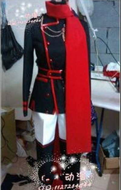 D.Gray-man Lavi Jr Bookman Uniform Anime Cosplay Costume Original Edition Custom Made