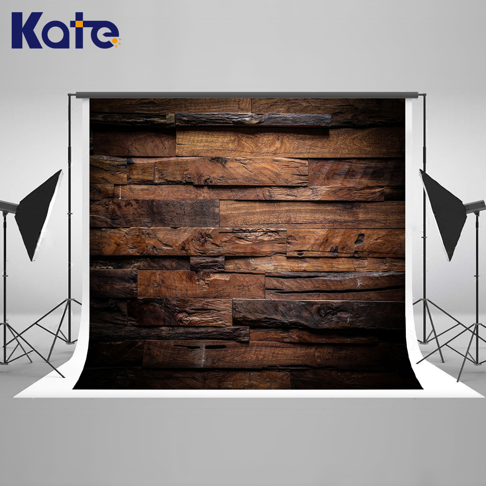 Kate Vintage Photography Backdrops Wood Wall Backdrop Wooden Ring Texture Background  Large Size Seamless Photo сумка kate spade new york wkru2816 kate spade hanna