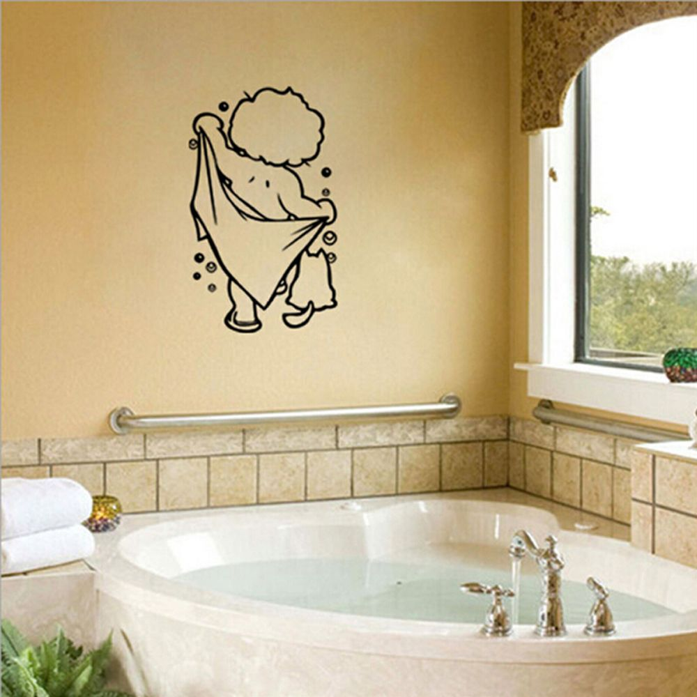 Free Shipping Cute Children Shower Decals Poster Lovely Baby Love ...