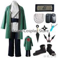 Free Express Naruto Tsunade Uniform Party Cosplay Costume Anime Naruto Tsunade Hallowmas Clothing Full Set As The Picture