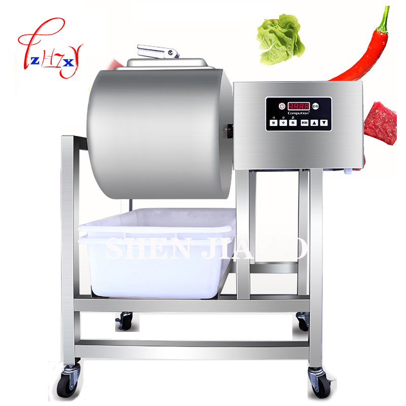 35L Meat Salting Marinated Machine chinese salter machine hamburger shop FAST Stainless Steel pickling machine with timer 220v fast food leisure fast food equipment stainless steel gas fryer 3l spanish churro maker machine