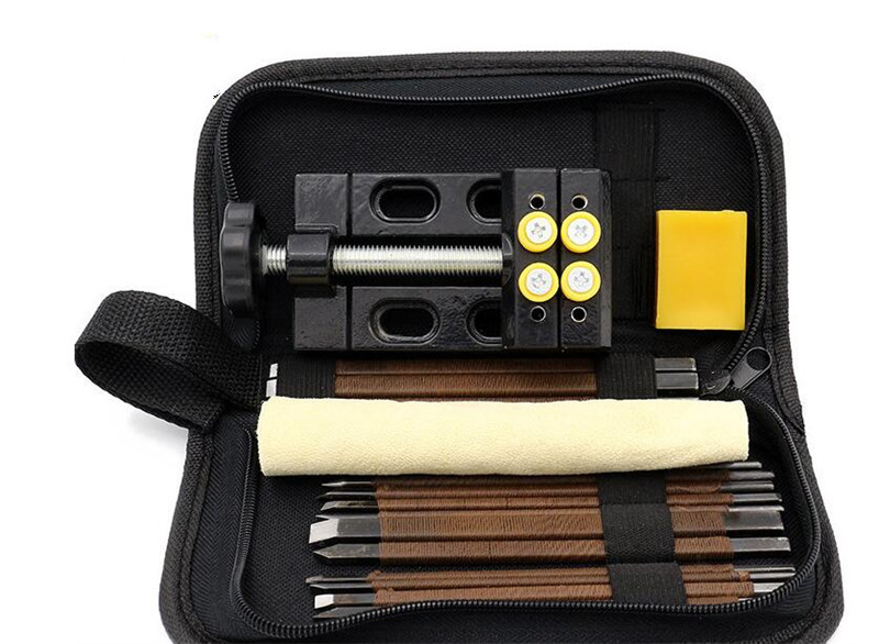 Carving Tool Set 18pcs/set Aluminum Alloy Hand Tool Set 110x61x35mm Tools for Carving Wood. wood carving tools wood trimmer tool export 400w wood carving tool at good price and fast delivery