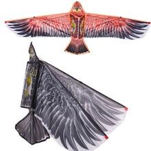 Stunt eagle chinese kite flying fun handle line nylon child gift