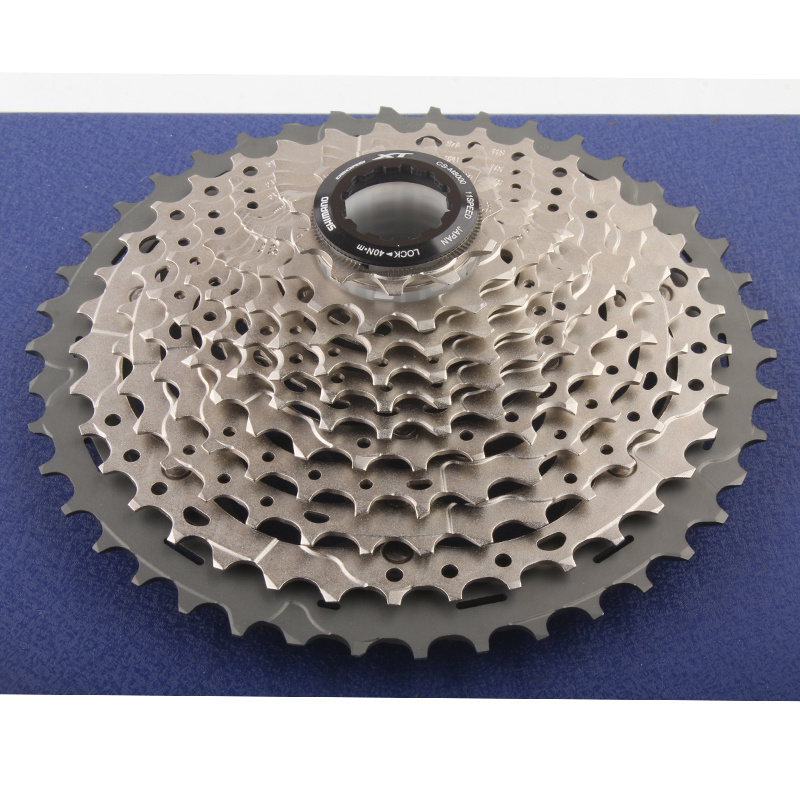 Shimano CS M8000 XT 11S Speeds <font><b>11</b></font>-<font><b>42T</b></font> <font><b>11</b></font>-46T MTB Bicycle Bike Cassette Freewheel image