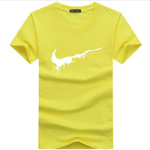 2018 New Brand Mens T-Shirts Summer cotton Short Sleeve T Shirts casual Tee Shirts Male T shirt Homme Plus Size Men's t-shirt(China)