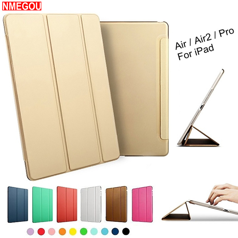 Luxury Tablet Heavy Duty Shockproof Smart Leather Stand Case Cover for Apple Ipad Air Air2 Pro 9.7 Inch I Pad 5 6 Air 1 2 Coque