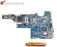 NOKOTION For HP Pavilion CQ42 CQ62 G42 G62 Laptop Motherboard HM55 DDR3 595184 001 DA0AX1MB6H1 Free CPU