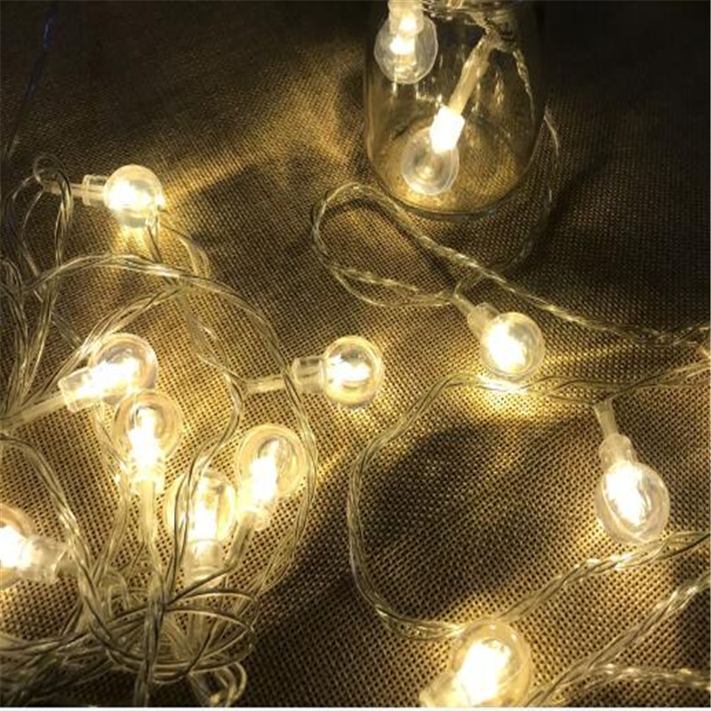 10M 394inch 50led Bubble Ball Led String Light Outdoor Decoration Fairy Lights Holiday Christmas Party Decorative Lights