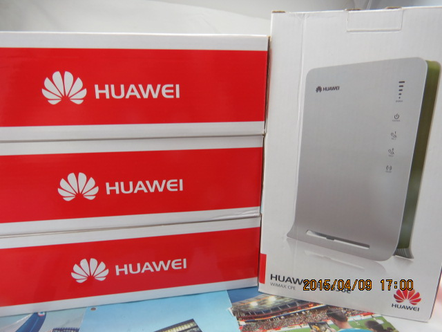 Huawei BM636e 3.3-3.6GGhz WiMAX 4G Wi-Fi CPE Router huawei bm 635 indoor cpe wimax router supports web ui configuration tool