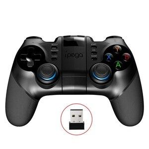 Image 2 - Ipega Pg 9156 умный Bluetooth игровой контроллер геймпад беспроводной джойстик игровая консоль с телескопическим держателем для Smart TV system