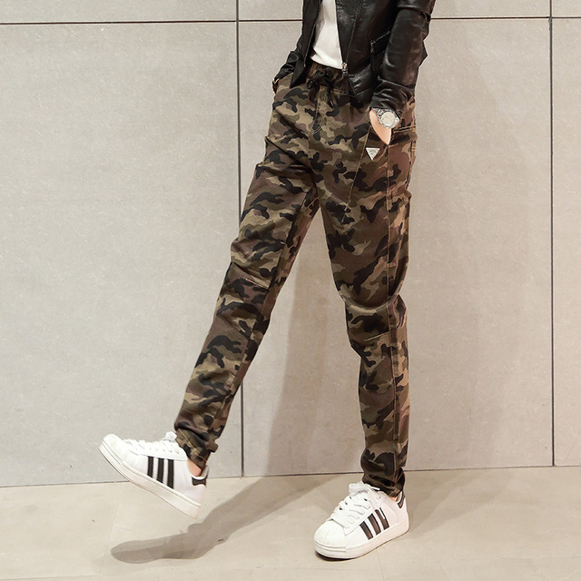 0c18db64 Cheap Wholesale High Quality Camouflage Pants Women Camo Pantalon Femme  Camouflage Harem Pants