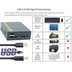 Image 3 - 2020 HD HDMI KVM hợp Qua TCP IP Hỗ Trợ HỒNG NGOẠI Mạng IP KVM Nối Dài USB HDMI 150M Qua UTP/STP RJ45 KVM Mở Rộng CAT5 CAT6