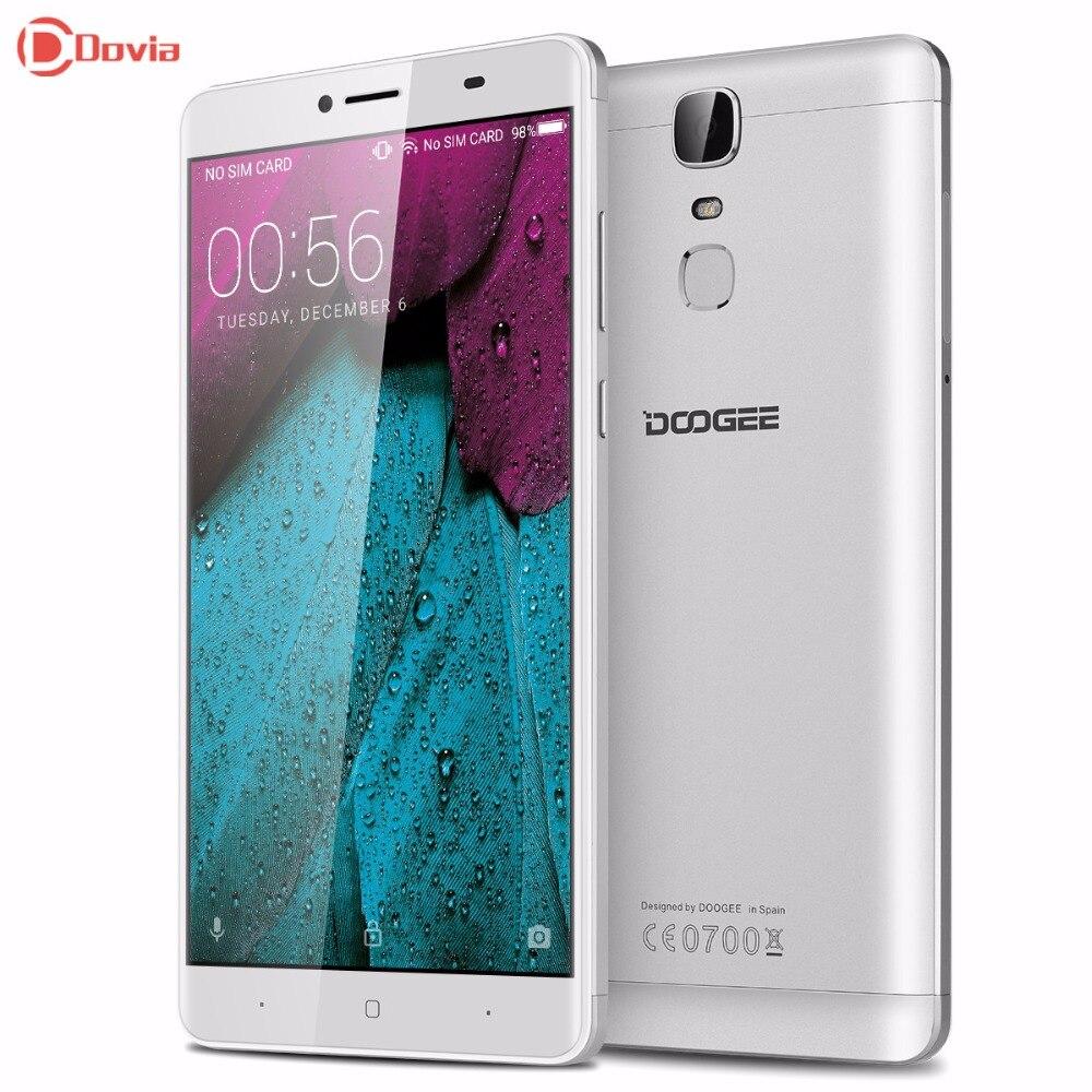 Y6 max android 6.0 6.5 pulgadas 4g smartphone doogee mtk6750 octa Core 3 GB RAM