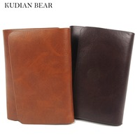 1pc PU Leather Men Money Clip With ID Card Holder Male Money Women Wallet Purses Coin