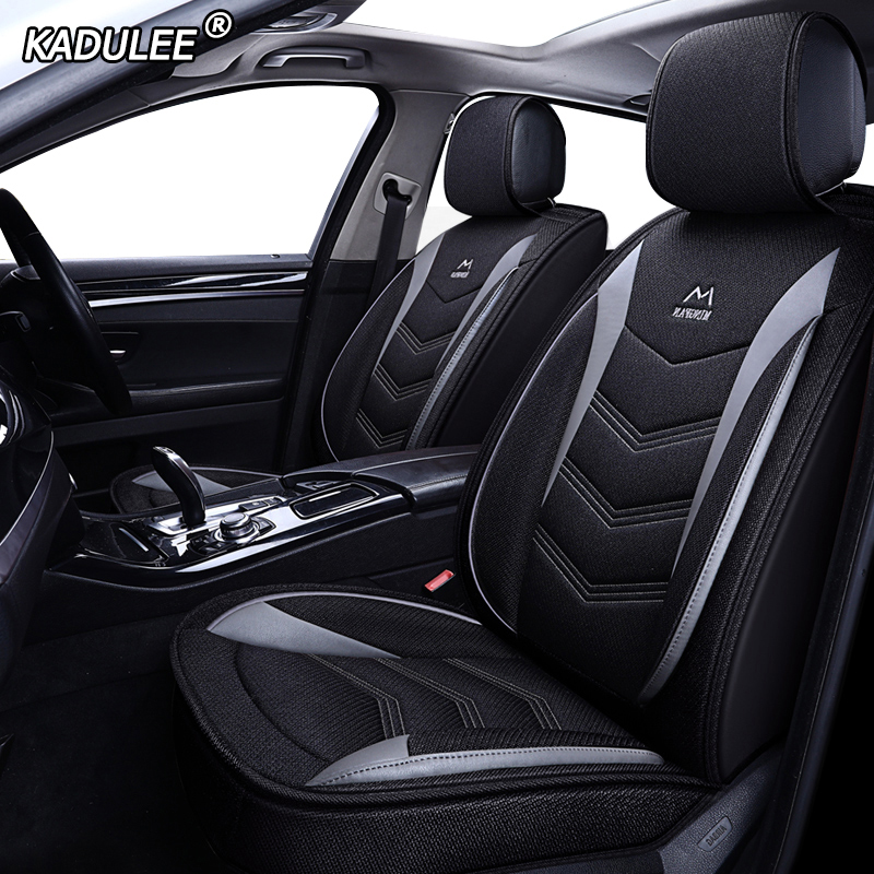 KADULEE flax Car Seat Covers for Great wall hover h3 h5 h6 h7 h8 haval h6