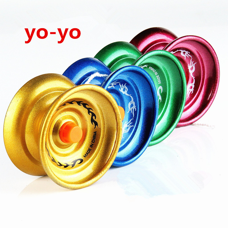 Cool Aluminum Design High Speed Professional YoYo Ball Bearing String Trick Yo-Yo Kids M ...