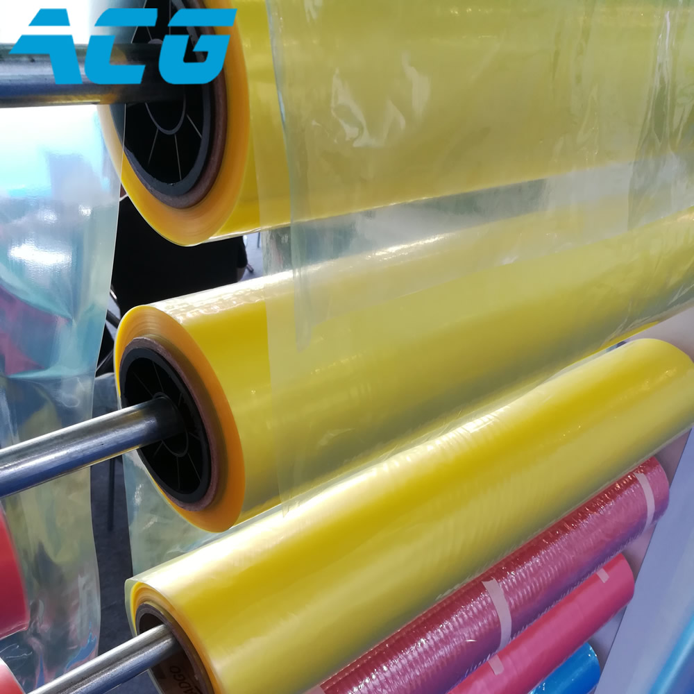 Width : 4m Yellow RTM Vacuum Bagging Film Carbon Fiber Fiberglass Resin Infusion