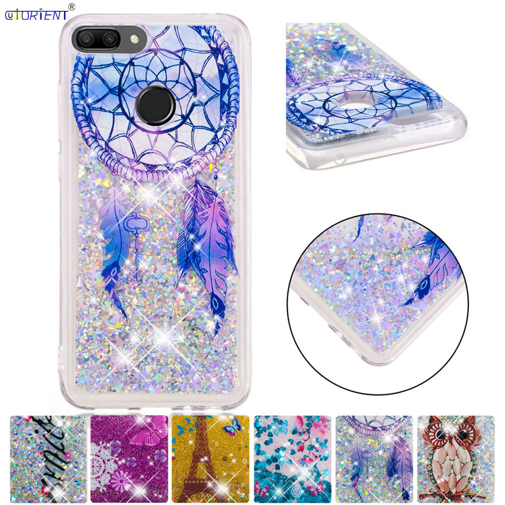 Dependable Cute Case For Huawei Honor 9 Lite Bling Glitter Dynamic Liquid Quicksand Cover Honor9 Lite Lld-l31 Lld L31 Soft Tpu Back Covers To Be Distributed All Over The World Cellphones & Telecommunications