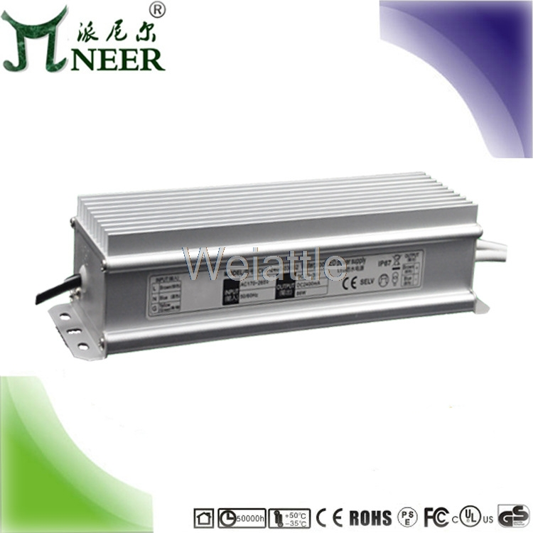 NEER  Constant pressure water proof switch power supply lamp strip module light string using IP67 PL-WCV-24-150 150W24VNEER  Constant pressure water proof switch power supply lamp strip module light string using IP67 PL-WCV-24-150 150W24V