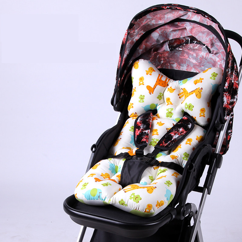 Thicken Shockproof Pram Pad Mat Newborn Baby Car Stroller Seat Cushion Cradle Sleeping Pillow Baby Car Pillow Neck Protection